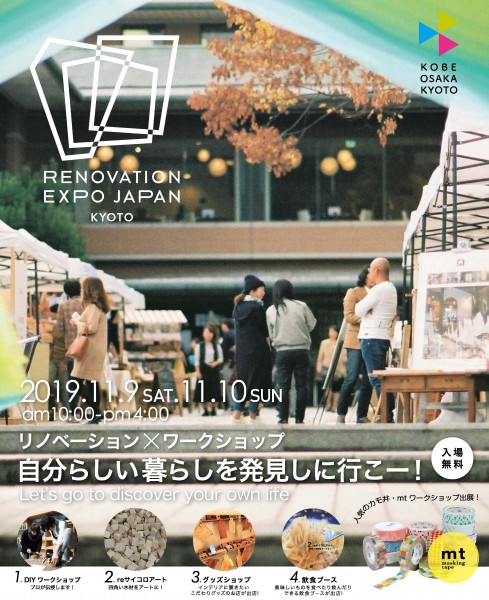 リノベEXPO2019京都 ポスターB2 入稿データ 201.9.28